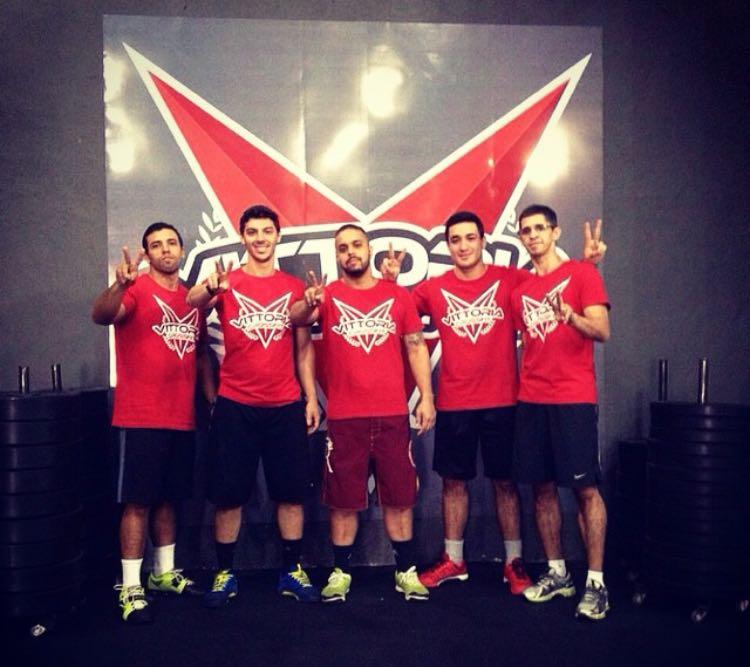 Primeiro dia de Vittoria CrossFit